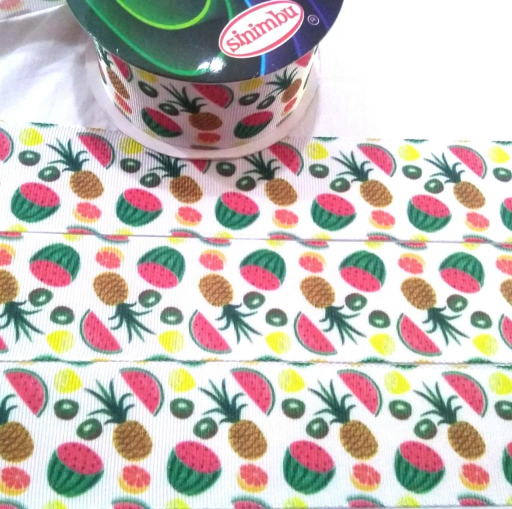 Fita de Gorgorão Sinimbú Frutinhas 38