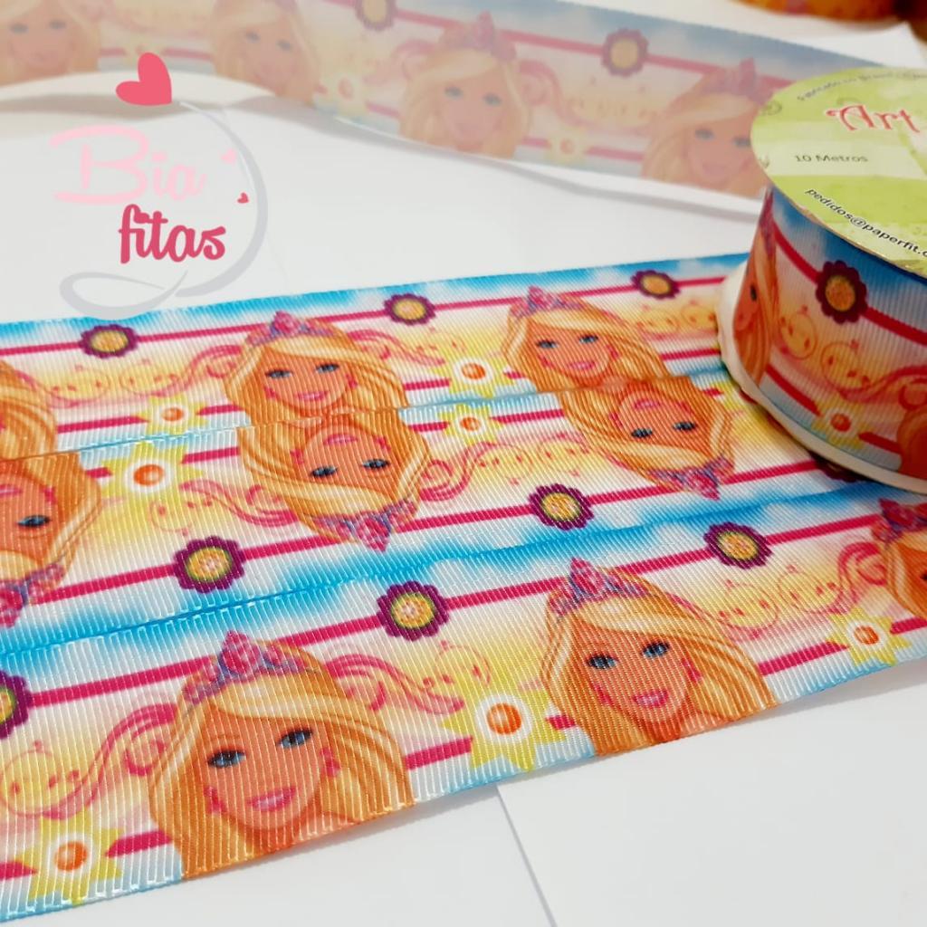 Fita de Gorgurão Art Fitas Barbie 38 - 943