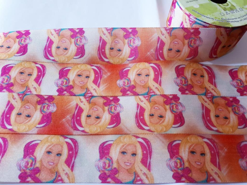 Fita de Gorgurão Art Fitas Barbie 38 - 952