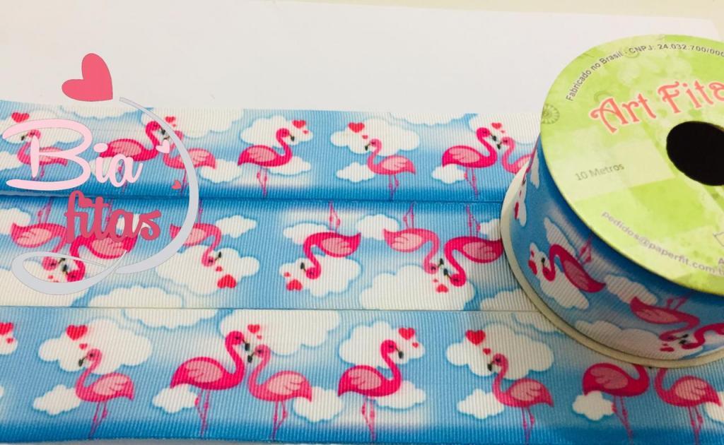 Fita de Gorgurão Art Fitas Flamingo 38 - 487