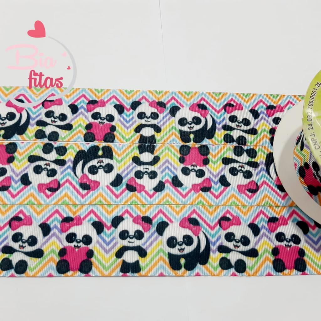 Fita de Gorgurão Art Fitas Panda 38 - 430