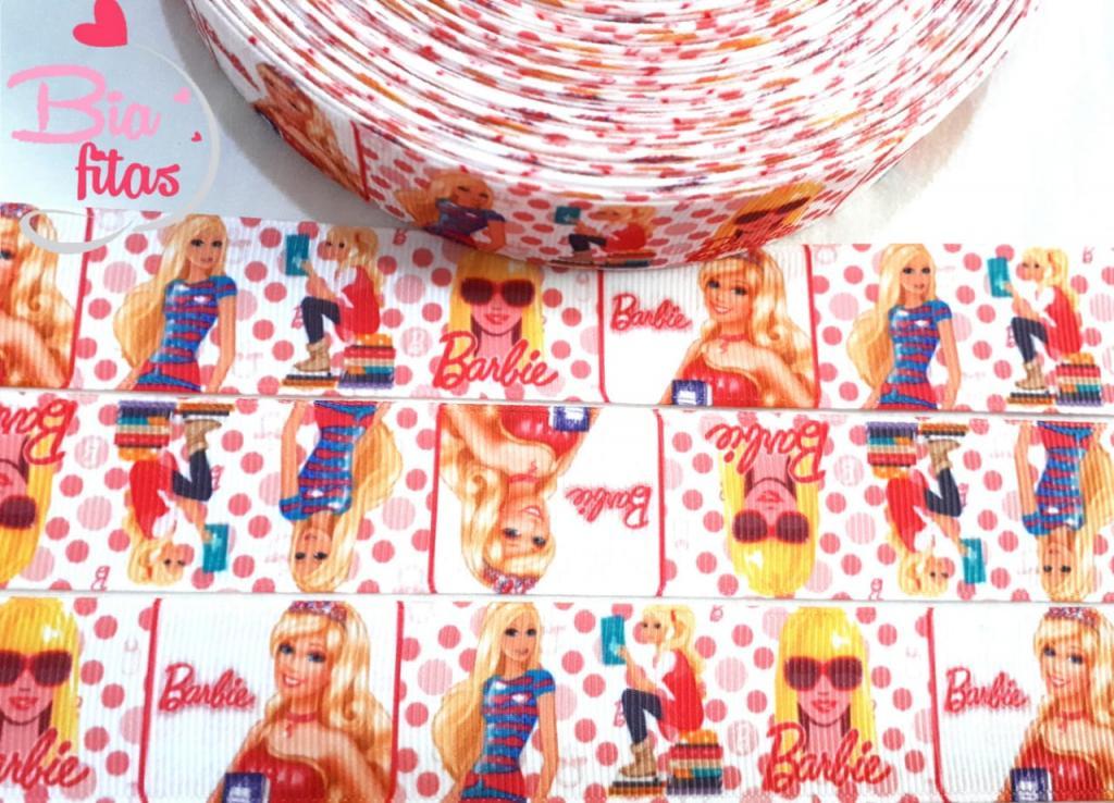 Fita de Gorgurão Barbie 25 - 2 metros