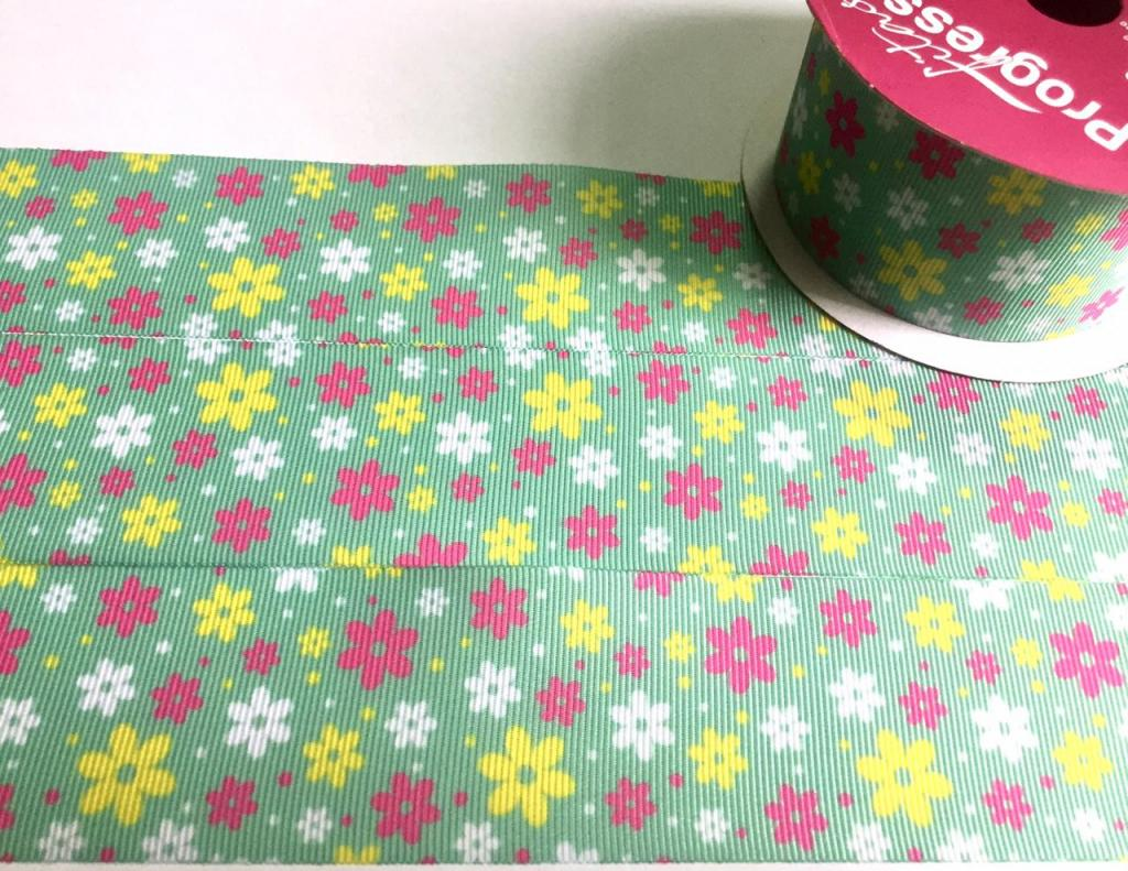 Fita de Gorgurão Progresso Floral 38