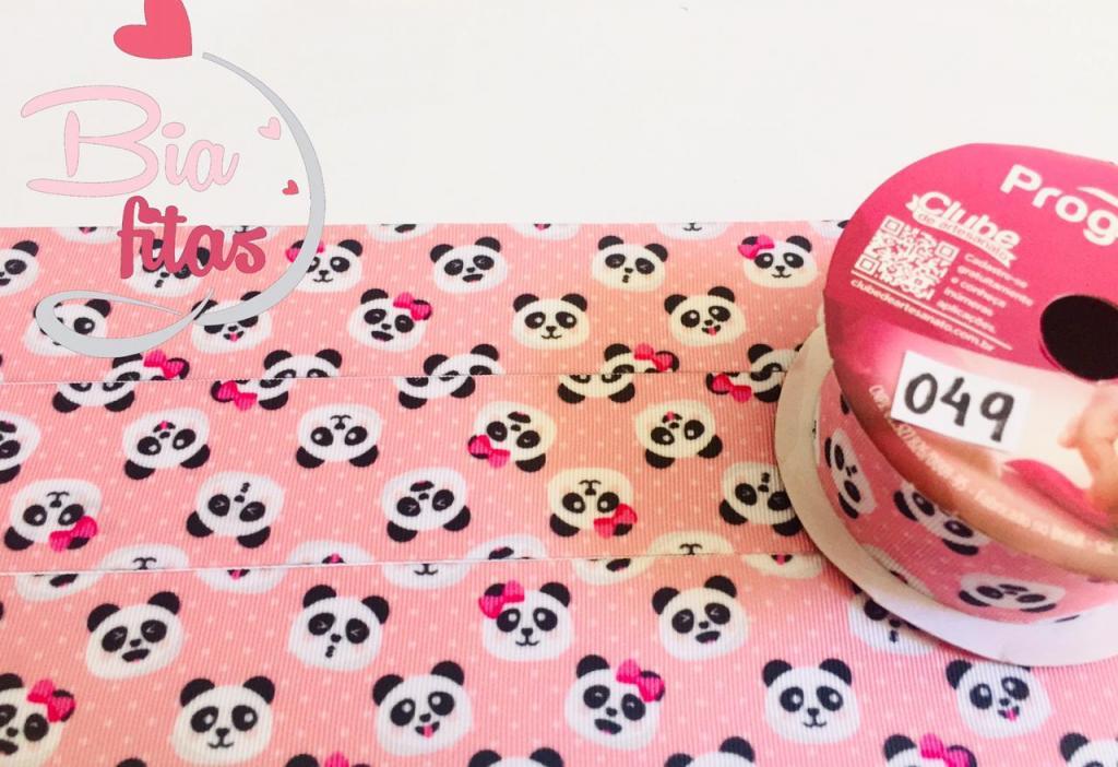 Fita de Gorgurão Progresso Panda 38 - 049