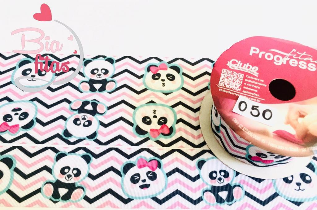 Fita de Gorgurão Progresso Panda 38 - 050