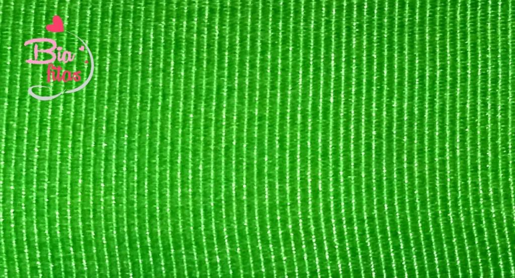 Fita Gorgurão Lisa Gitex Verde 123