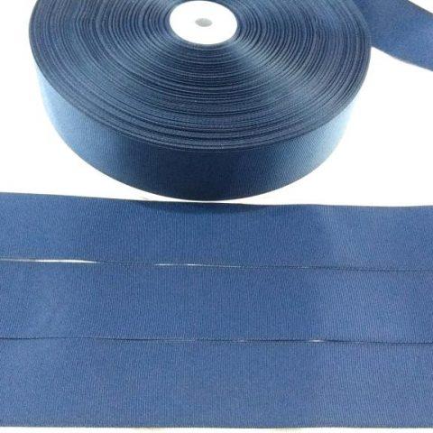 Fita Gorgurão Lisa Sanding Azul 159 52mm n12