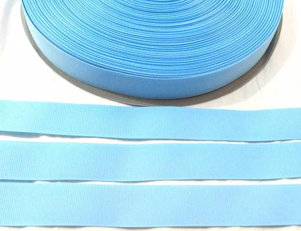 Fita Gorgurão Lisa Sanding Azul 180