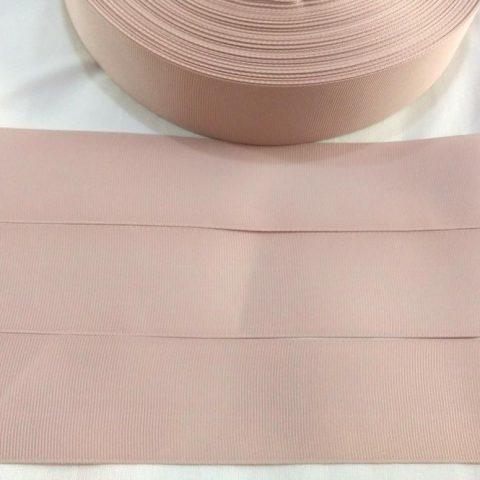 Fita Gorgurão Lisa Sanding Nude 172 - 10mm n02