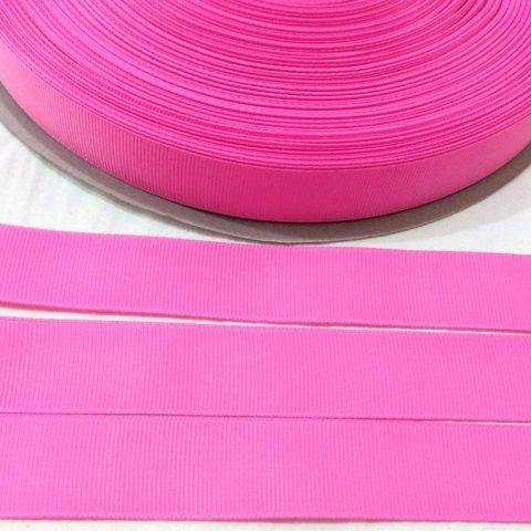 Fita Gorgurão Lisa Sanding Rosa Escuro 199 - 10mm n02