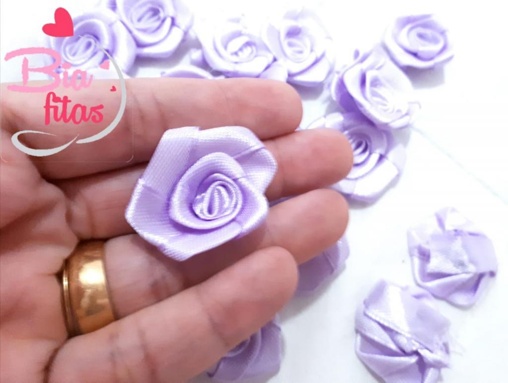 Flor Rococó Lilas 21*