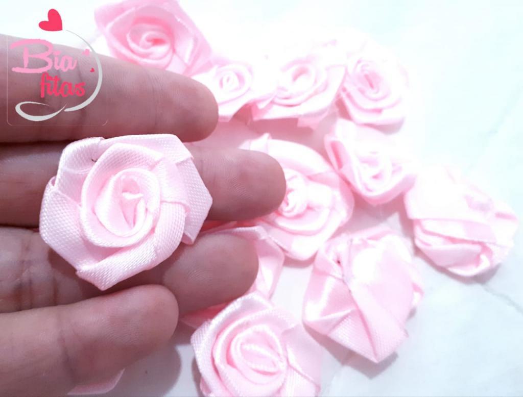 Flor Rococó Rosa 04*