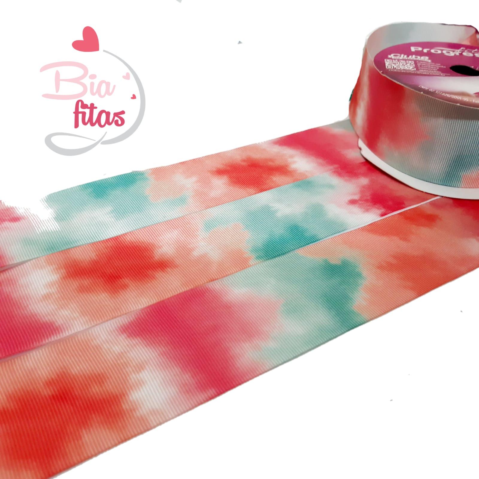 Gorgurão Prog. Tie Dye 38/206 - 10 metros