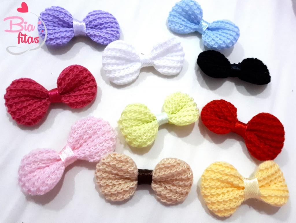 Lacinho de Crochet (5unidades)