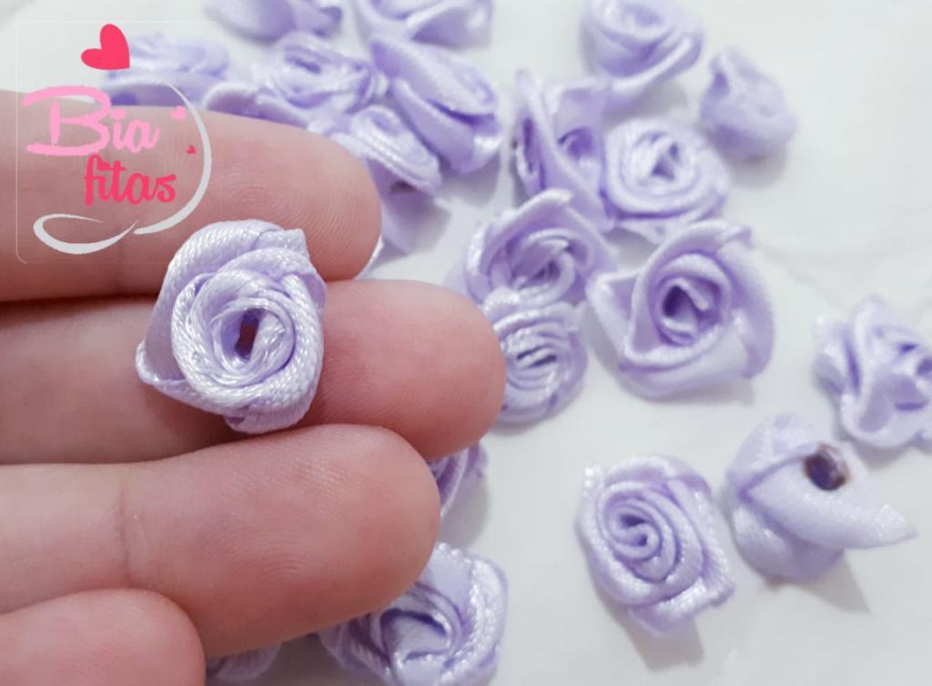 Mini Flor Rococó Lilas 21