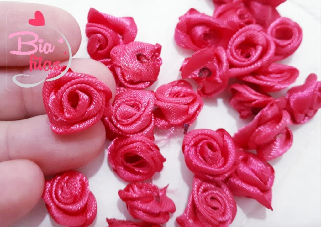 Mini Flor Rococó Pink Escuro 05