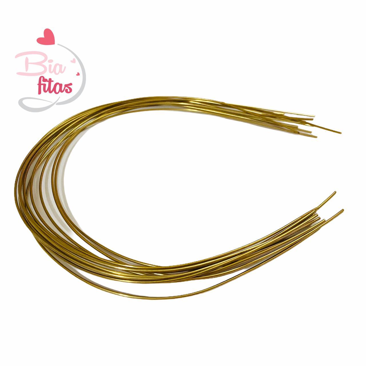 Tiara Cobre de Ferro Para Tubo de strass (10 unidades)