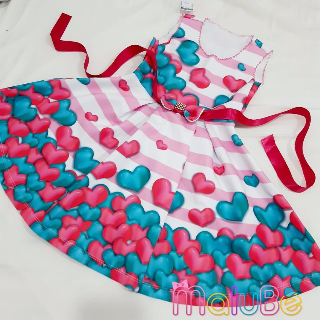 Vestido  Corações