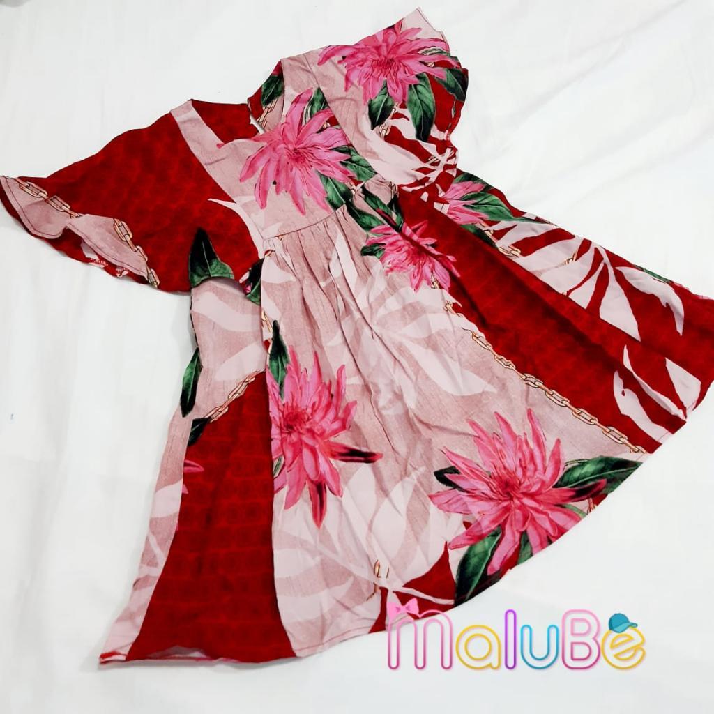 Vestido Flores Rosa