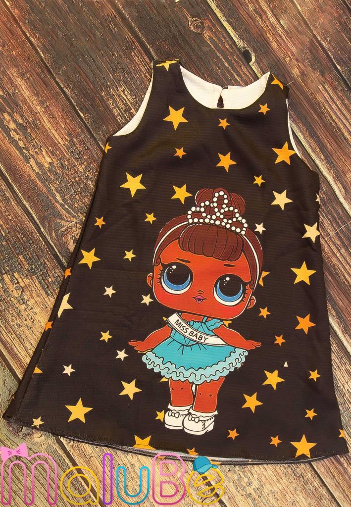 Vestido LoL Estrelas M