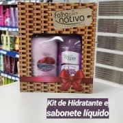 Kit Hidratante + Sabonete Líquido Folha Nativa 500ml