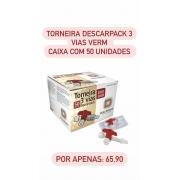 Torneira 3 Vias Luer Lock Descarpack  - Cx 50 unidades