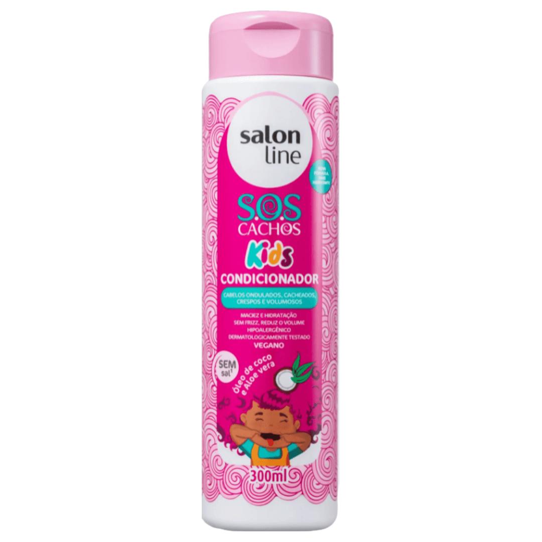Condicionador SOS Cachos Kids Salon Line  300ml