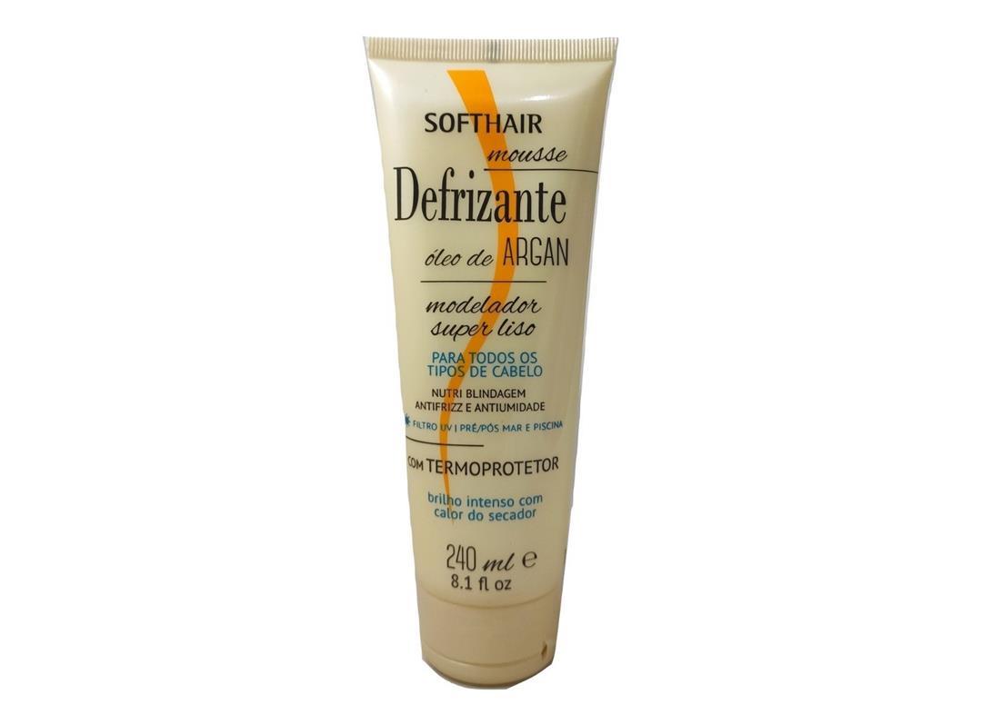 Defrizante Soft Hair Oleo de Argan Com Termoprotetor 240ml