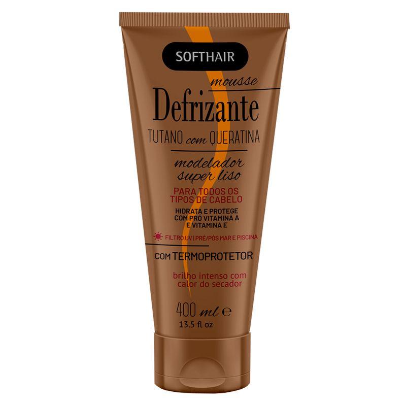 Defrizante Soft Hair Tutano com Queratina 400ml