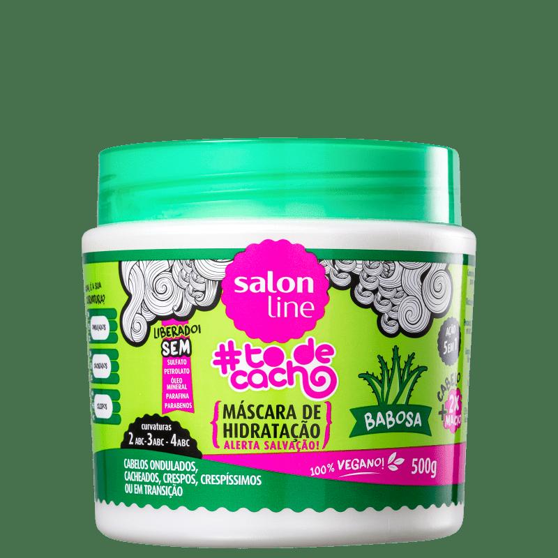 Mascara #To de Cachos Babosa Salon Line 500g
