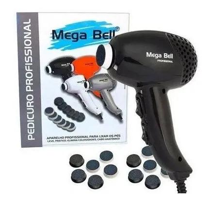 Pedicuro Lixa Elétrica Para Pés - Mega Bell
