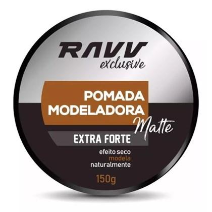 Pomada Ravv Modeladora Extra Forte Matte  Efeito Seco 150g