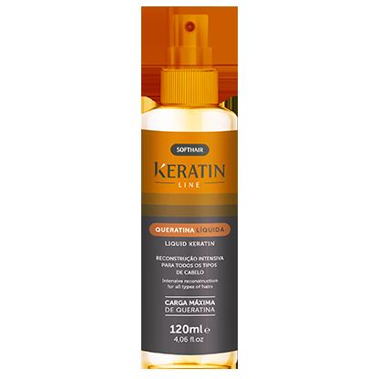 Queratina Liquida Keratin Line 120ml Soft Hair