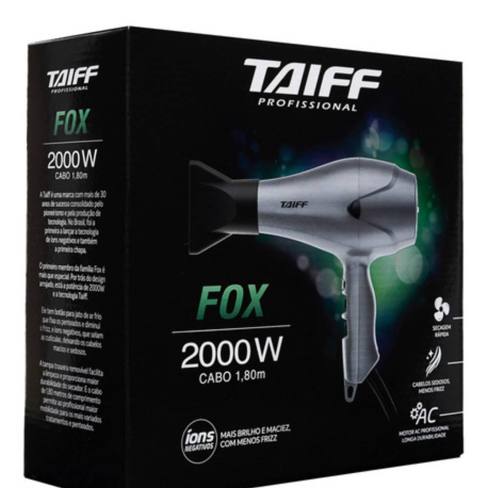 Secador Fox Íons Negativos 2000w - Taiff