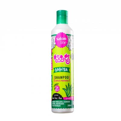 Shampoo #Todecacho Babosa Salon Line 300ml