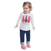 Blusa infantil feminina - Kyly - 207334