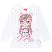 Blusa infantil feminina - Kyly - 207360