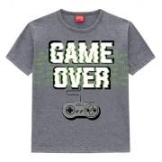 Camiseta Masculina Infantil Kyly - Game Over