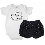 Conjunto bebê feminino - Piu  Blu - 2029047