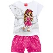 Conjunto Feminino Infantil Kyly - 110475