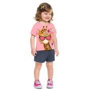 Conjunto infantil feminino - Kyly - 110446