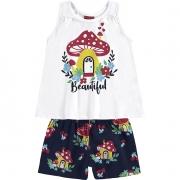Conjunto infantil feminino - Kyly - 110865