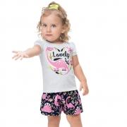 Conjunto infantil feminino - Kyly - 110867