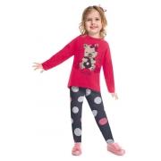 Conjunto infantil feminino - Kyly - 207384