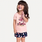 Conjunto infantil feminino - Milon - 13183