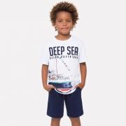 Conjunto Masculino Infantil Deep Sea - Milon - 12509