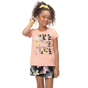 Conjunto infantil feminino - Kyly - 110907