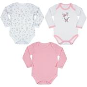 Kit 3 body bebê feminino - Tip Top - 1150977