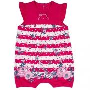 Macacao bebê feminino - Tip Top - 1045018