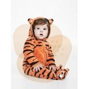 Macacao bebê soft com capuz - Tip Top - 1012067